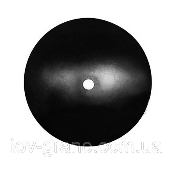 Диск бороны БДП 6,3(сфера) ф600мм, круг 66, 4отв.ф13, толщина 6мм 2