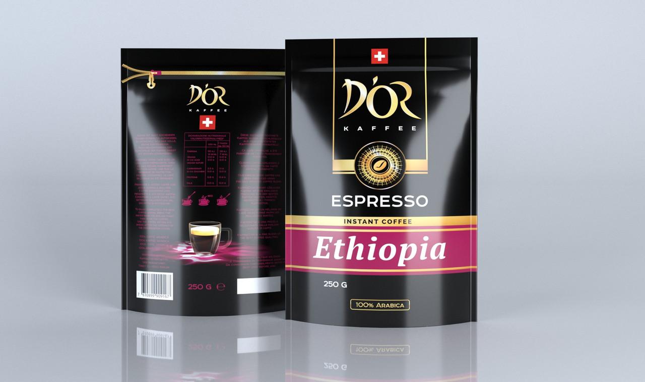 DOR Espresso Ethiopia 250 г. растворимый