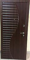 """Входная дверь для улицы """"Портала"""" (Комфорт Vinorit) ― модель Волна, фото 1"""