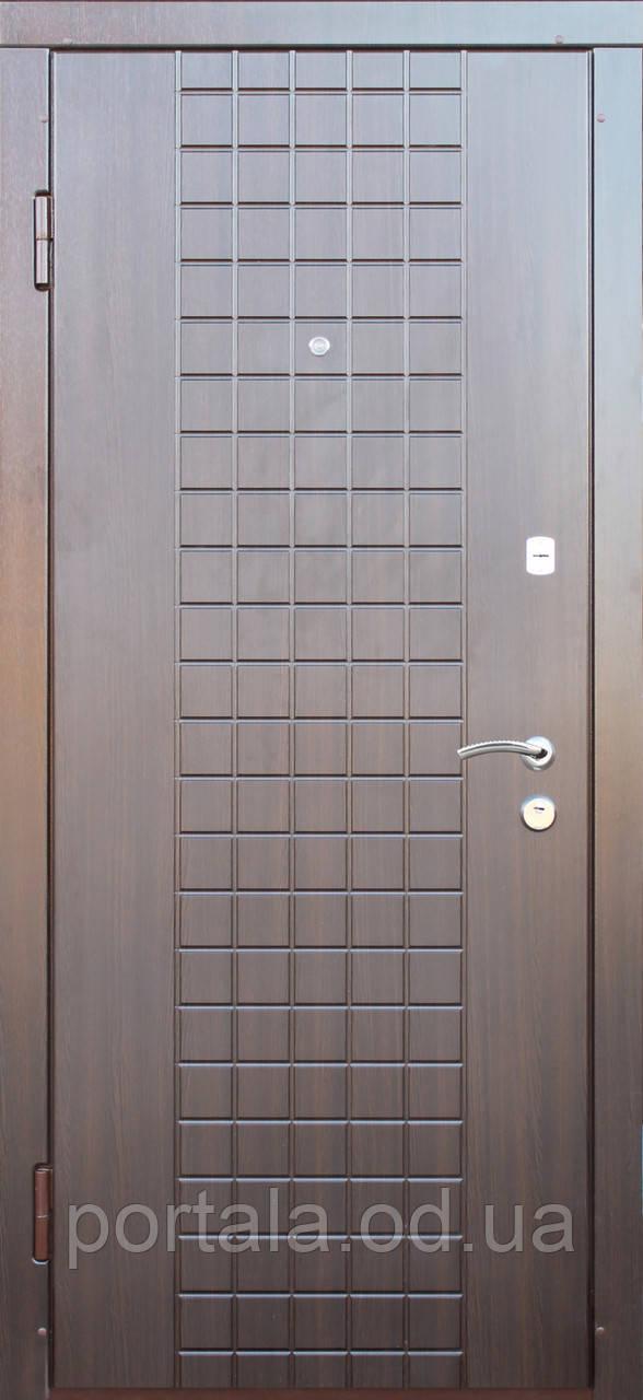 """Вхідні двері для вулиці """"Портала"""" (Комфорт Vinorit) ― модель Латис"""