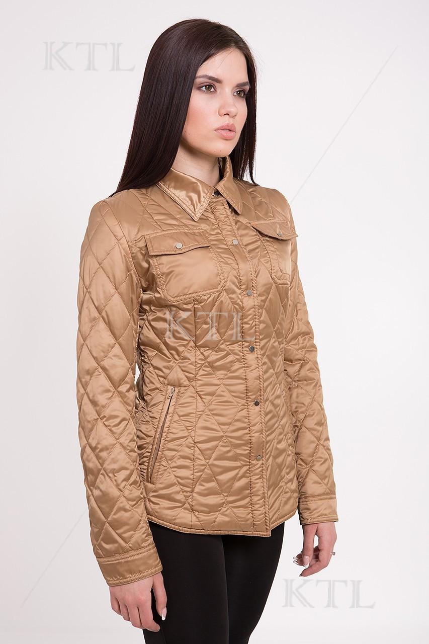 Куртка женская CW15C163 #649_ карамельная