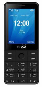 Мобільний телефон Verico Qin S282 Black Гарантія 12 місяців