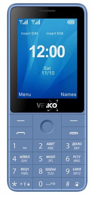 Мобільний телефон Verico Qin S282 Blue Гарантія 12 місяців