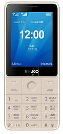 Мобільний телефон Verico Qin S282 Gold Гарантія 12 місяців