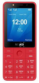 Мобільний телефон Verico Qin S282 Red Гарантія 12 місяців