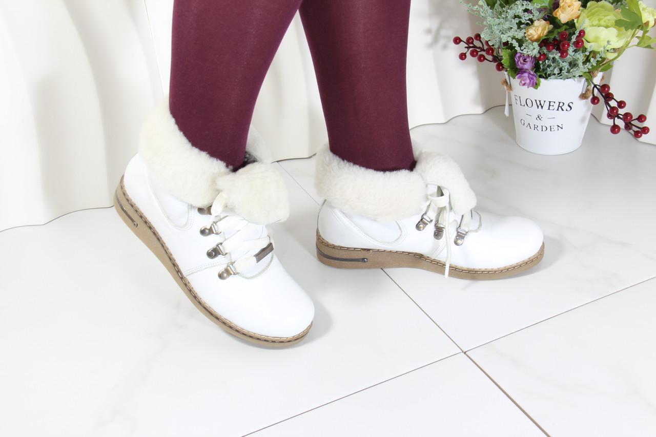 Кожаные зимние ботинки Dessy 3001-320