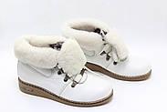 Кожаные зимние ботинки Dessy 3001-320, фото 2