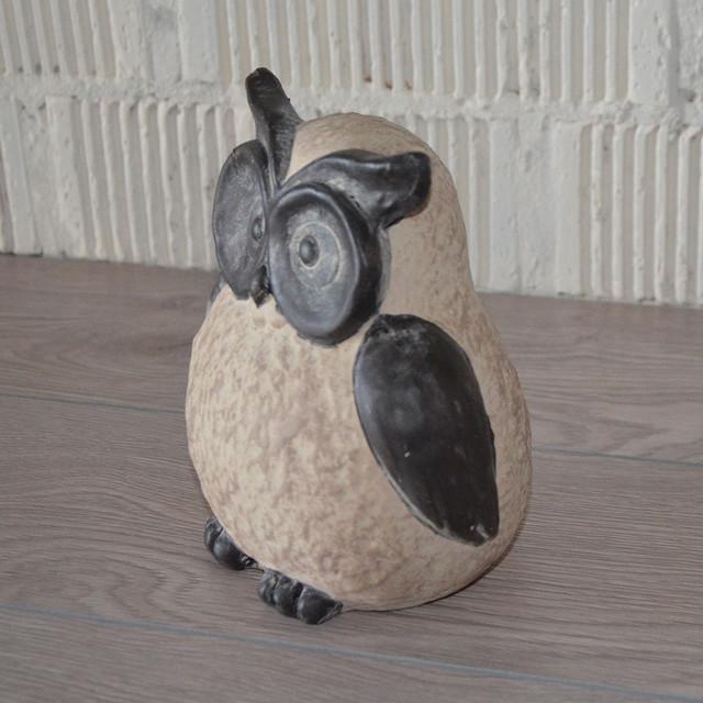 Сова керамическая (17х16х11 см.) (фото)