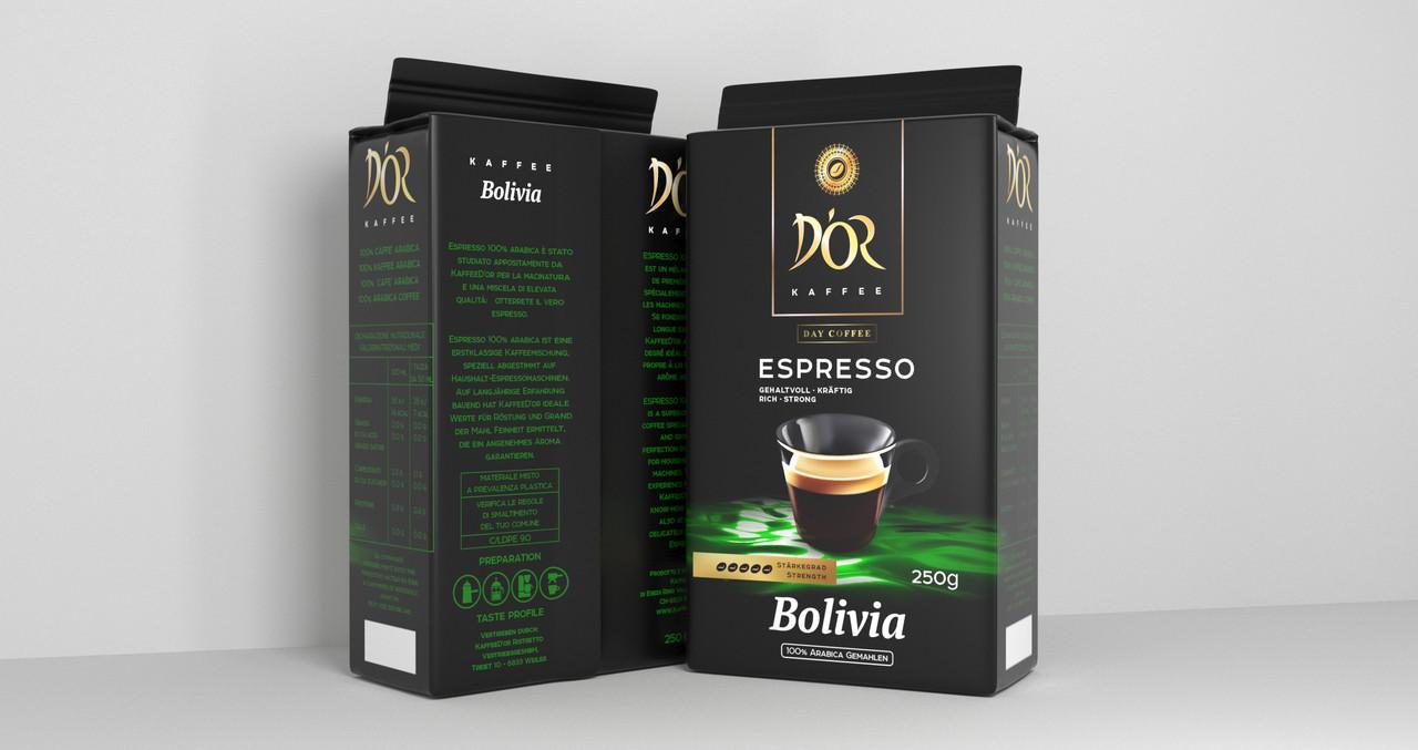 DOR Espresso Bolivia 250 г. молотый
