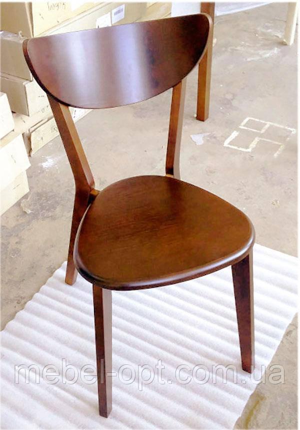 Деревянный стул C-616Т Модерн Т дизайнерская мебель, цвет орех лесной, Заказ от 2 штук