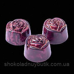 """Шоколадные конфеты ручной работы """"Роза"""", 1 шт, 20 г."""