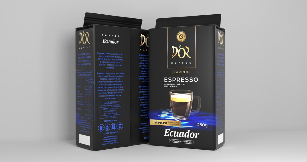 DOR Espresso Ecuador 250 г. молотый
