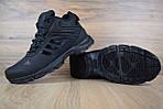 Мужские зимние кроссовки Adidas Climaproof (черные), фото 4