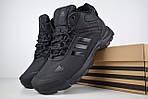 Мужские зимние кроссовки Adidas Climaproof (черные), фото 6