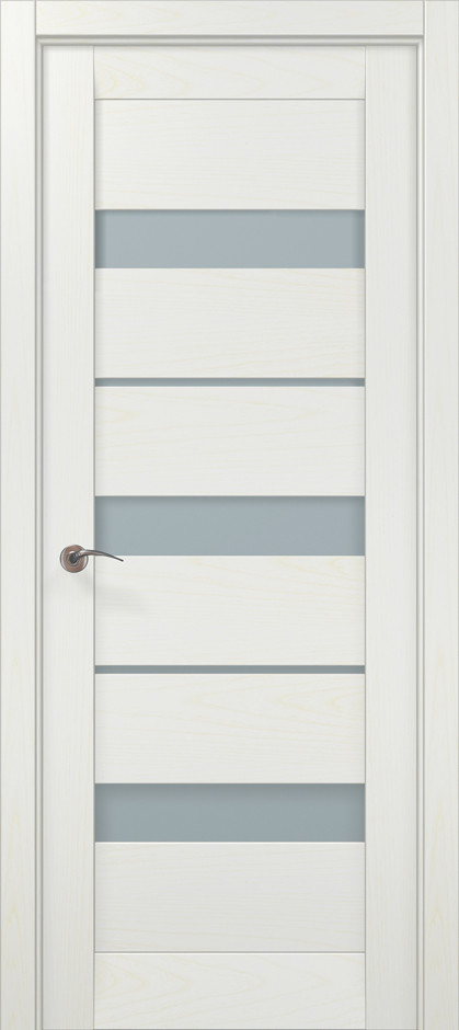 Двери Папа Карло Millenium ML-22 Белый ясень 2000х910х40