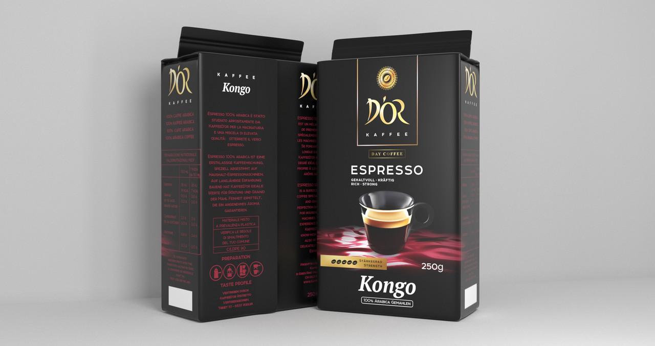 DOR Espresso Kongo 250 г. молотый