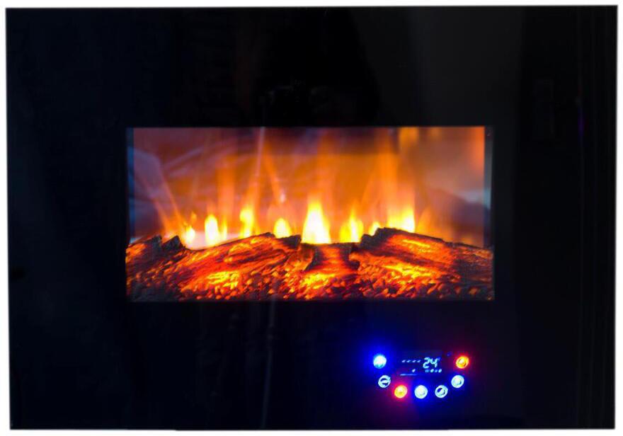 Настынний електрокамін Bonfire RLF-W07 1,8кВт