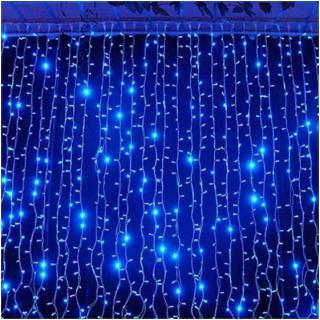 Уличная гирлянда водопад 720 светодиодов, синяя(LED720-B)