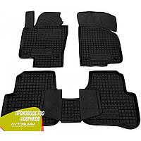 Резиновые коврики Avto-Gumm Volkswagen Passat B6 '05-10