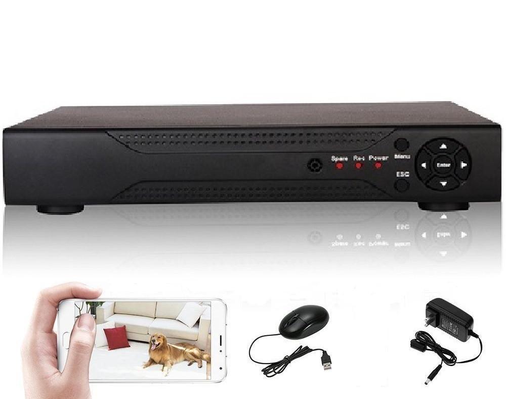 Super Full HD 5Mp 16 канальный гибридный 6 в 1 видеорегистратор