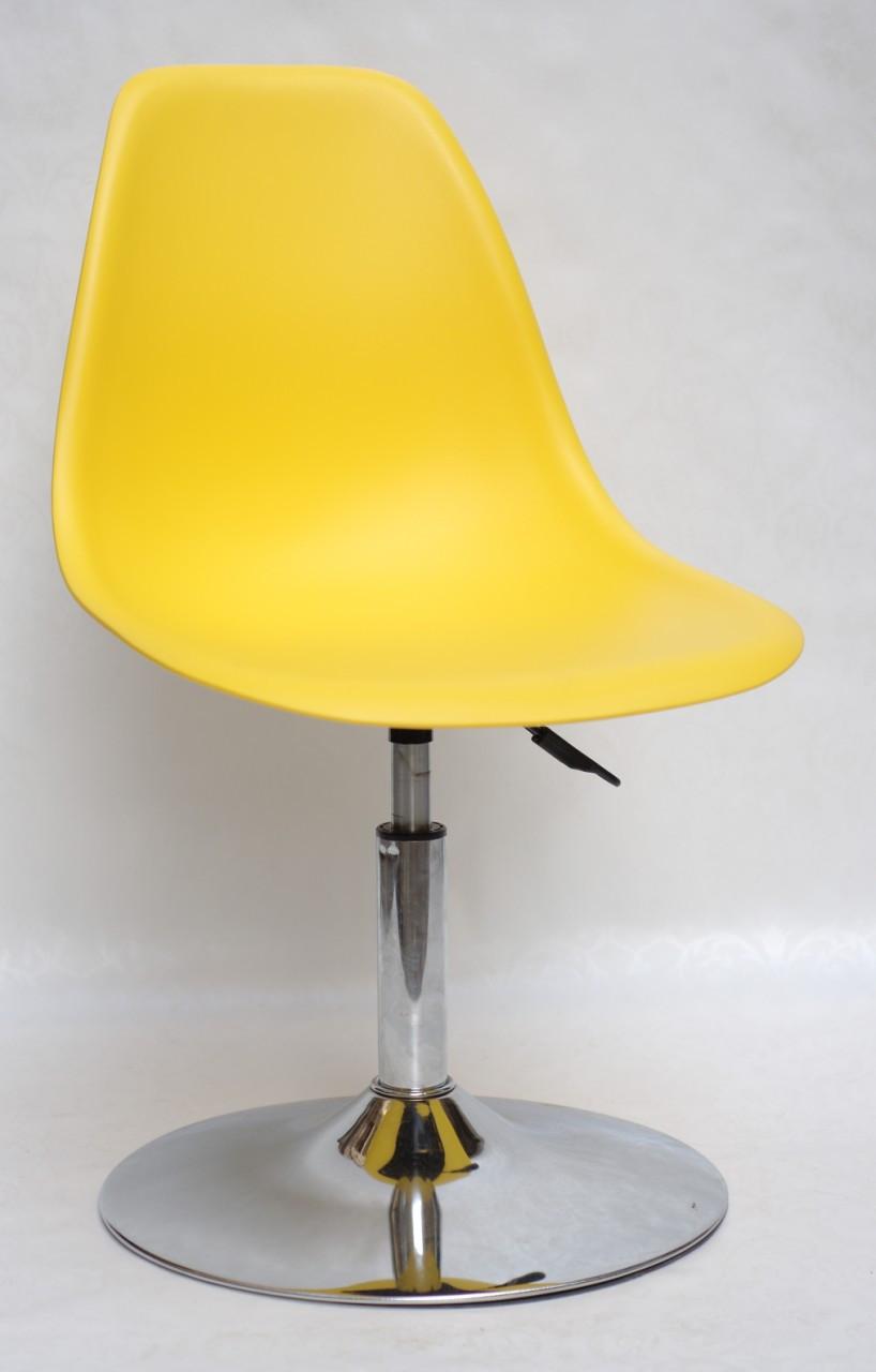 Стул Nik C Base, ярко-желтый