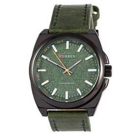 Наручные часы эконом Curren Classico 8168 Black\Green