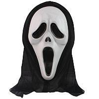 Маска Крик с накидкой на Хэллоуин