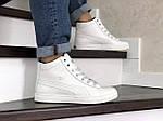 Чоловічі зимові кросівки Puma Suede (білі), фото 2