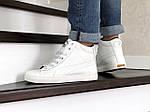 Чоловічі зимові кросівки Puma Suede (білі), фото 4