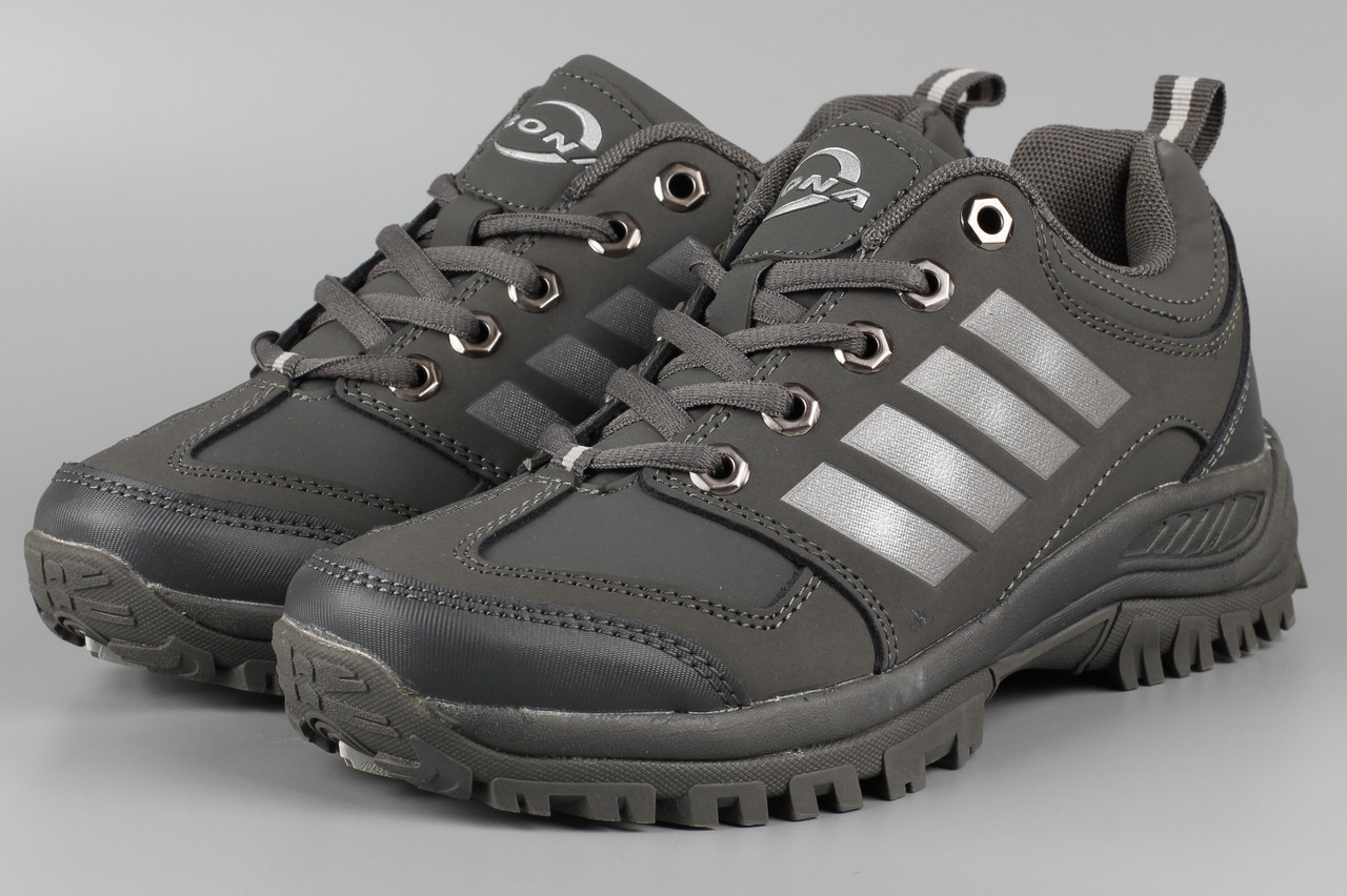 Кросівки унісекс жіночі сірі Bona 713R-2 Бона Розміри 36 38 39 41