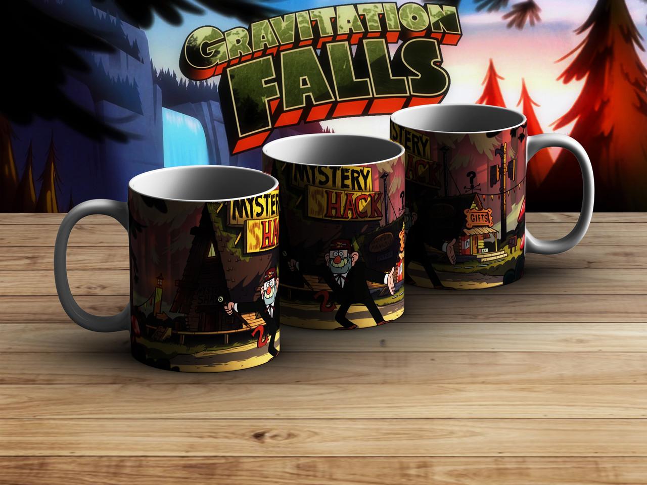 Чашка mystery shack Гравити Фолз / Gravity Falls