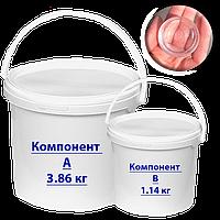 Эпоксидная смола для заливки столешницы 5кг (СУПЕР ПРОЗРАЧНАЯ)