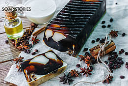 Весовое натуральное мыло  Кофе с молоком