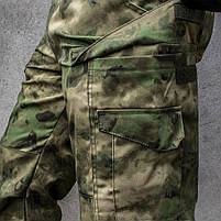 """Лёгкие тактические брюки """"ALPHA PRO"""" A-TACS FG (ARMY), фото 6"""