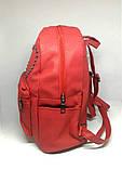 Рюкзак Красный городской (Два сердца), фото 2