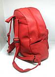 Рюкзак Красный городской (Два сердца), фото 5