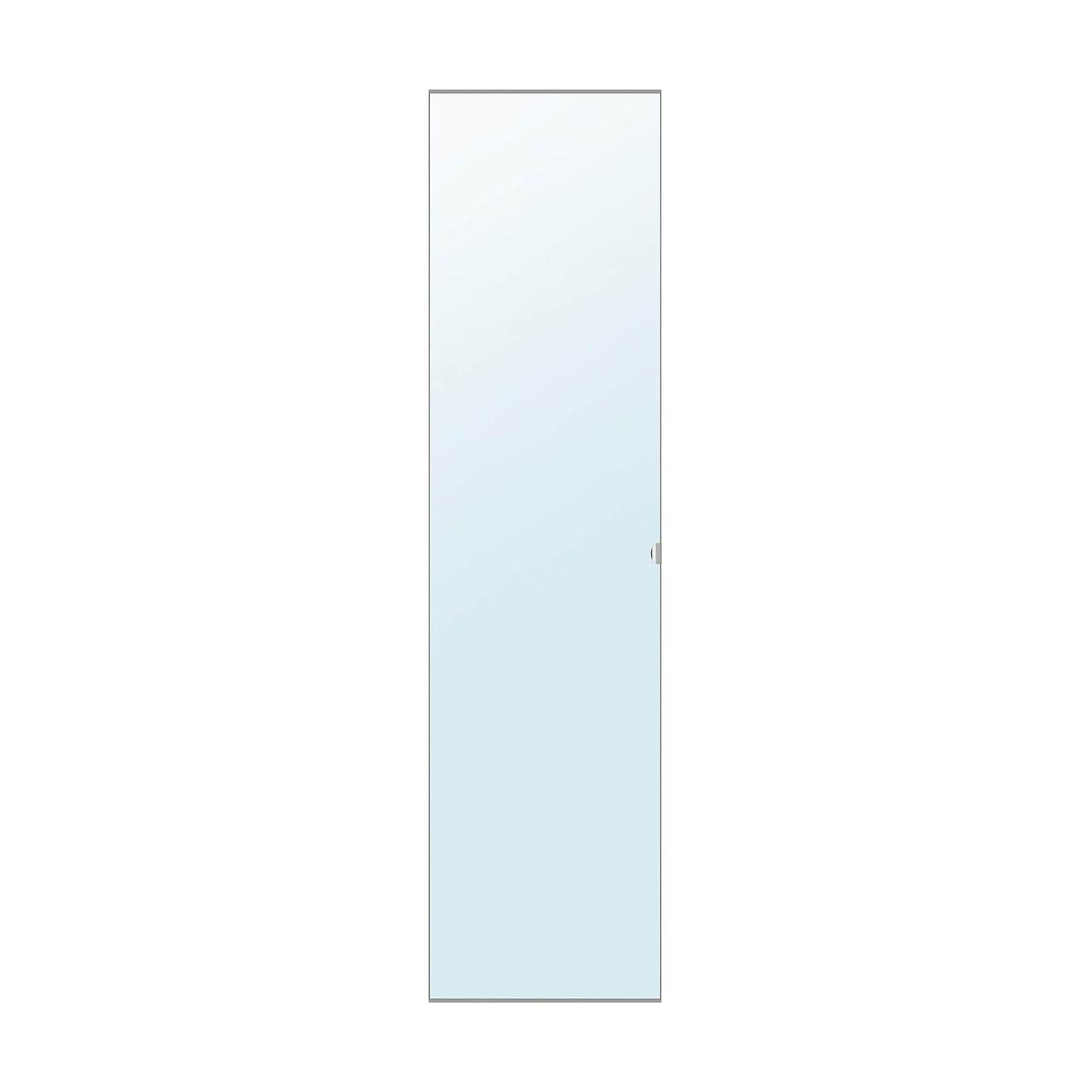 Дверь IKEA VIKEDAL зеркальное стекло 50x195 см 700.233.19