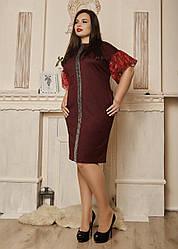 Сукня жіноча 587-2 бордо