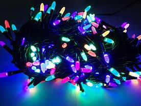 Гирлянда конус-рис 200 LED ROCKET BULB микс(LED200M-7)