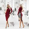 Ошатне плаття жіноче ТК/-4022 - Бордовий