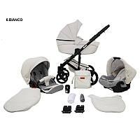 Детская универсальная коляска 2 в 1 Mikrus Comodo 6 (эко-кожа)