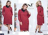 Стильное платье   (размеры 48-58) 0214-54, фото 3