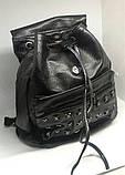 Рюкзак чорний міський. Жіночий рюкзак, фото 2