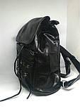 Рюкзак чорний міський. Жіночий рюкзак, фото 4