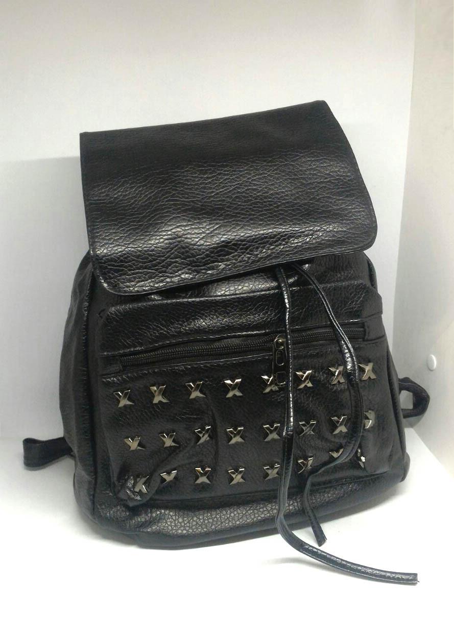 Рюкзак чорний міський. Жіночий рюкзак