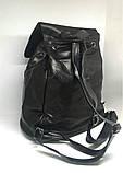 Рюкзак чорний міський. Жіночий рюкзак, фото 6