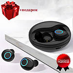 Беспроводные наушники блютуз наушники bluetooth гарнитура 5.0 Wi-pods K10 наушники с микрофоном Оригинал Черн, фото 2