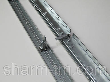 Раздвижной механизм для стола 1100 мм синхронный с тормозом