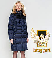 Braggart Angel's Fluff 29775   Женский длинный воздуховик темно-синий