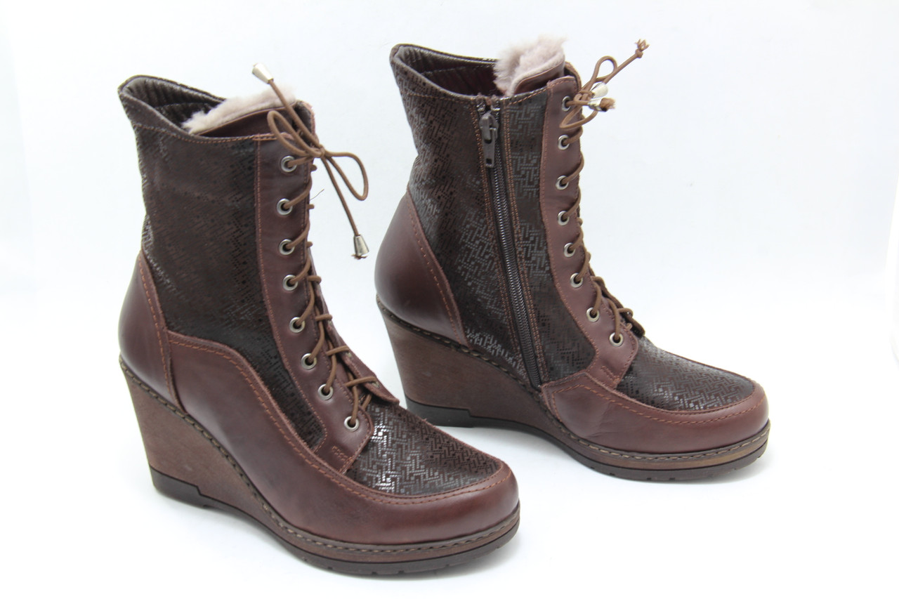Коричневые ботинки GFR 214-K-B